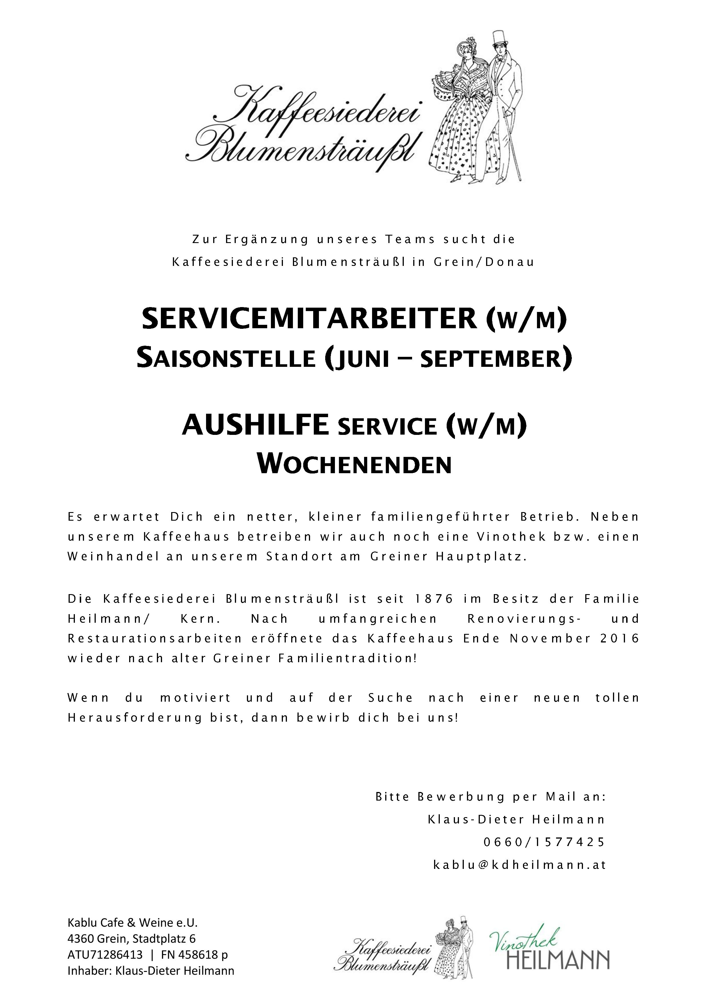 Service Sommer 2018