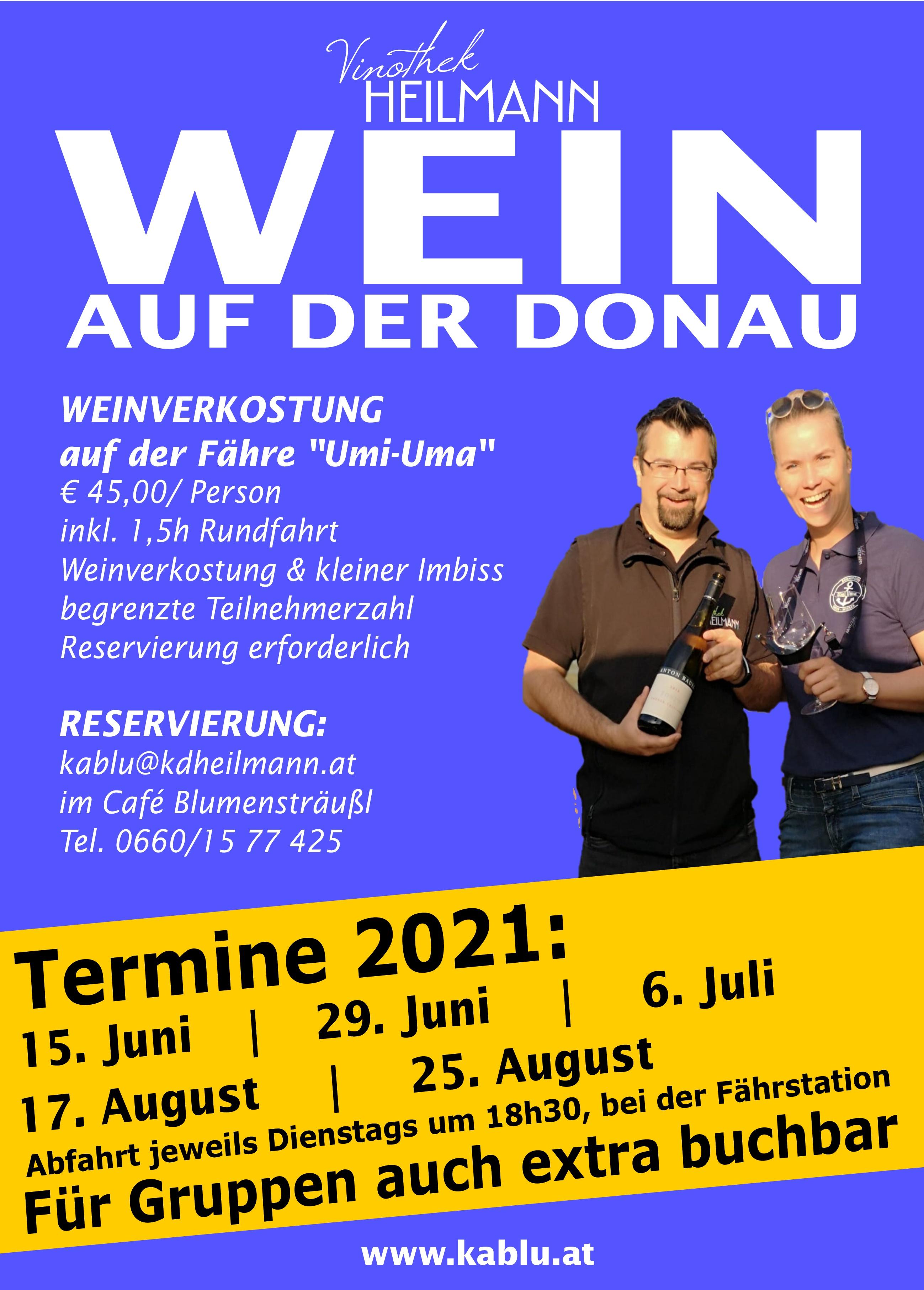 Wein auf der Donau 2021