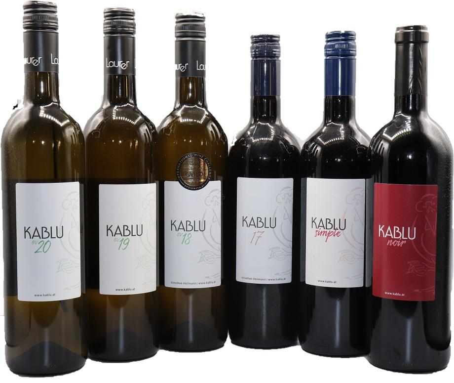 Kablu Weine komplette Serie ohne 111 klein